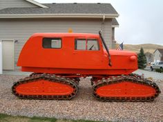 Unusual vehicle - 1962 TUCKER SNO-CAT, family model_eBay