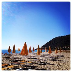 Perdepera Beach in Sardinia, Italy