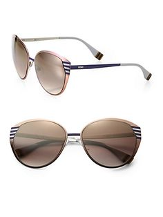 59c08de199d Fendi - Pequin Cat s-Eye Sunglasses - Saks.com