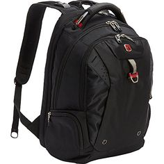 SwissGear Travel Gear Scansmart Backpack  Black  Red ** Be sure to check out this awesome product. Note:It is Affiliate Link to Amazon.