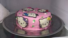 Hello kitty in marzipan