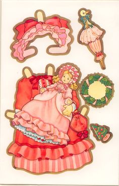 """FOR A SPECIAL GIRL A VICTORIAN PAPER DOLL 