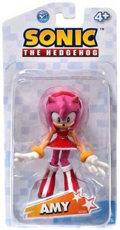 Partytoyz Inc. - Sonic The Hedgehog Amy Rose 3.5 Inch Plastic Action Toy Figure, $6.99 (http://www.partytoyz.com/sonic-the-hedgehog-amy-rose-3-5-inch-plastic-action-toy-figure/)