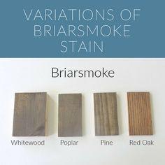 Varathane Stain, Diy Wood Stain, Stain On Pine, Wood Stain Colors, Grey Stain, Paint Stain, Paint Colors, Red Oak Floors, Amigurumi