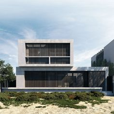 The Mermaid Beach Residence is a new family home positioned along a surf beach in Queensland. Building on the clients' appreciation of concrete, the building was designed primarily of exposed concrete internally, as well as externally, with the addition of timber shutters on the external windows to protect against the…