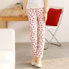 Buy '59 Seconds – Floral Skinny Pants' with Free International Shipping at YesStyle.com. Browse and shop for thousands of Asian fashion items from Hong Kong and more!