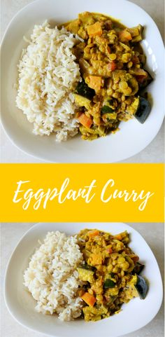 Delicious Recipe for Eggplant Curry