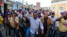 René Polanco encabeza apoteósico mano a mano en Los Guarícanos;  confía CP PLD  le dará al pueblo lo que pide