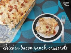 Chicken Bacon Ranch is a classic flavor combo that can't be beat. The name had me from the beginning and I had no doubt in my mind that it would be family approved. However before reading the ful...