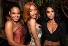@TeyanaTaylor @ChristinaMilian & @Karrueche attended @ChanceTheRappers x @GQ x @YouTube #GRAMMYs party! See more pics @ IceCreamConvos.com or the ICC app! Link to site in bio. #ChanceTheRapper #GQ #YouTube #IceCreamConvos #TeyanaTaylor #ChristinaMilian #Karrueche (Photo: Emma McIntyre)