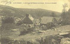 Saint-Herbot, la montagne et le moulin de la cascade, c.1900 | Central Finistère -  Brittany