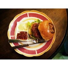 Original Burger by Carpentier Kitchen Surabaya. Nice composition with a perfect portion.