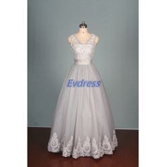 Hey, I found this really awesome Etsy listing at https://www.etsy.com/listing/220351740/2015-gray-tulle-and-lace-wedding-gowns