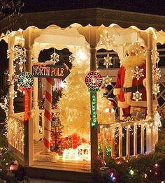 294 best christmas lights outside decor images on pinterest christmas yard decorations from better homes gardens readers aloadofball Images