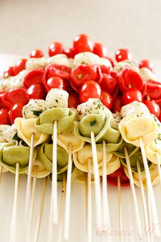 TORTELLINI KABOBS RECIPE: Memorial Day, BBQ, Fourth of July