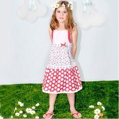 girls Oobi spring dress