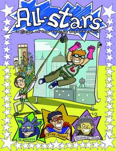 All-Stars: A Game of Low-Budget Super-Heroics cover by Lindsay Hornsby