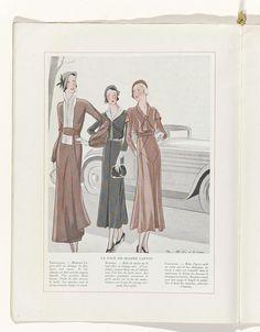 Art - Goût - Beauté, Feuillets de l' élégance féminine, Mars 1932, No. 139, 12e Année, p. 6, anoniem, Jeanne Lanvin, Charles Goy, 1932