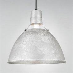 Hi-Lite H-1631 Uplight Deep Bowl Warehouse Shade RLM Pendant galvanized $140