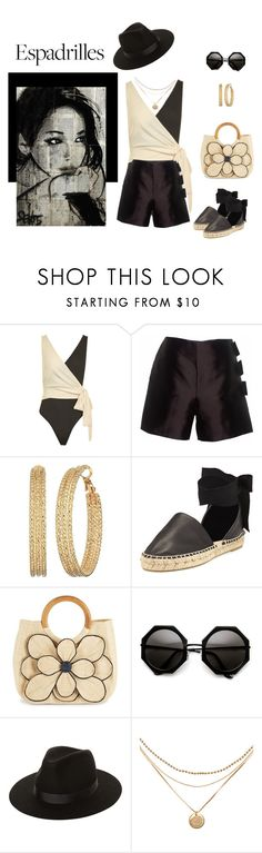 """""""Just Starting Out"""" by jjsunnygirl ❤ liked on Polyvore featuring Topshop, Claire Andrew, GUESS, Vince, Mar y Sol and Lack of Color"""