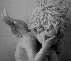 I heard an angel cry