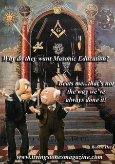 Classic Masonic Thinking...lol