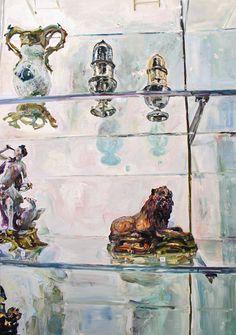 """Aaron Smith """"Case"""", 2008, oil on panel, 48"""" x 36"""""""