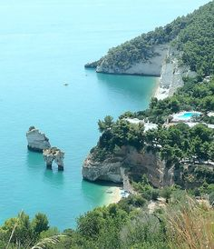 The Zagare Bay is, in our opinion, the most beautiful beach of Gargano and one of the most beautiful in Puglia. It definitely worth a visit!