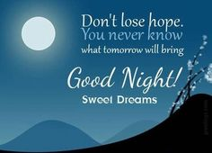 Good night messages for friends and family – Night Messages