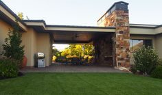 Terry Judd Design Ideas, Pictures, Remodel and Decor- Would like to have a breezeway just like this one.
