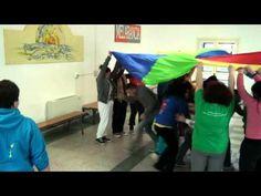 Paracadute, emozioni e colori - Fantastici Giochi di Gruppo - YouTube Canti, Cooperative Learning, Physical Education, Physics, Musicals, Colours, Video, Children, Youtube
