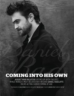 Daniel Radcliffe by Karl Simone for August Man Malaysia September Issue 2016