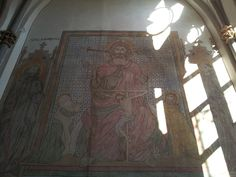 Frescoes in the St. Andrew church, Cologne