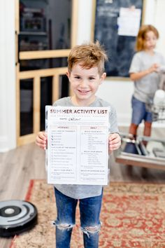 Get your family routine organized with this ultimate chores and activity checklist to help kids structure their day. Perfect for Quarantine or Homeschool featured by popular Florida lifestyle blogger, Tabitha Blue of Fresh Mommy Blog! A Free Printable no screentime activity list for busting boredom, keeping the house clean and for kids to stay responsible. New blank version available! #homeschool #homeschooltips #quarantine #kidsathome #activitylist #activitiesforkids