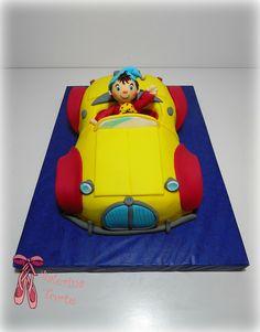 Noddy Cake - Nodi torta by Balerina Torte Jagodina Noddy Cake, Rodjendanske Torte, Boy Birthday, Birthday Cakes, Balerina, Cake Icing, Oui Oui, Cute Cakes, Creative Cakes