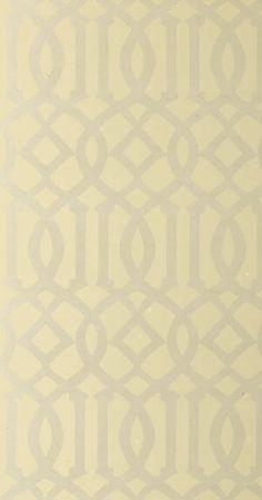 Imperial Trellis Alabaster Wallpaper