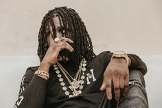 HUF Taps Chief Keef for line of menswear.