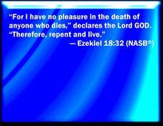 Ezekiel 18 | Ezekiel 18 32
