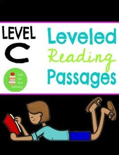 Leveled Reading Comprehension Passages ~ Guided Reading ~ Level C ~ Leveled Text Beginning Reading, First Grade Reading, Reading Comprehension Passages, Comprehension Questions, Phonics Reading, Kindergarten Reading, Guided Reading Levels, Emergent Readers, Small Groups