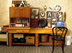 Interior decorating via miniatures. Amazing! by The Shopping Sherpa, via Flickr