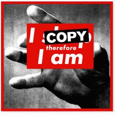 I copy therefore i am | SUPERMARKET