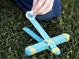 DIYNetwork.com has kids crafts, DIY toys and awesome art projects that will keep kids busy on rainy days or any day. - marshmallow catapult DIY for boys