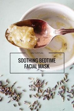 DIY and Homemade Beauty Recipes : Soothing Bedtime Facial Mask. Love this facial! So relaxing. Natural Hair Mask, Natural Face, Natural Hair Styles, Natural Beauty, Organic Beauty, Diy Masque, Homemade Beauty Recipes, Belleza Natural, Diy Skin Care