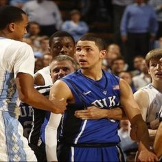 Right before the winning shot, Austin Rivers. <3
