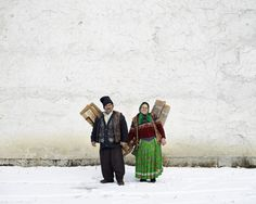 Haunting Photos of a Crumbling Post-Communist World | Carpet sellers in Pojorata, North Romania, 2012.  Tamas Dezso, courtesy of Robert Koch Gallery, San Francisco  | WIRED.com