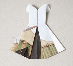 did you know that the paper from the anthropologie catalogues is a great weight for fanciful folding?
