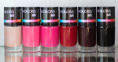 Chegou por aqui: A Koloss me mandou 6 cores lindas para mostrar para as minhas queridas Fascinadas por Esmaltes. Eu já conheço a marca e amo, e você conhece a Koloss? Já usou algum produto deles? Em breve no blog.  www.fascinioporesmaltes.com