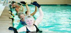 Water balance exercise for Seniors