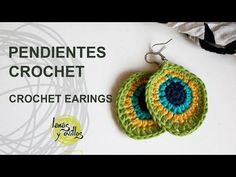 Tutorial Pendientes o Aros Crochet o Ganchillo, My Crafts and DIY Projects