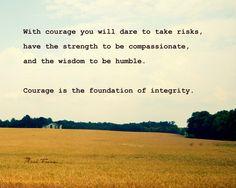 Graduation gifts Mark Twain Quote Landscape by theartofobservation, via Etsy.